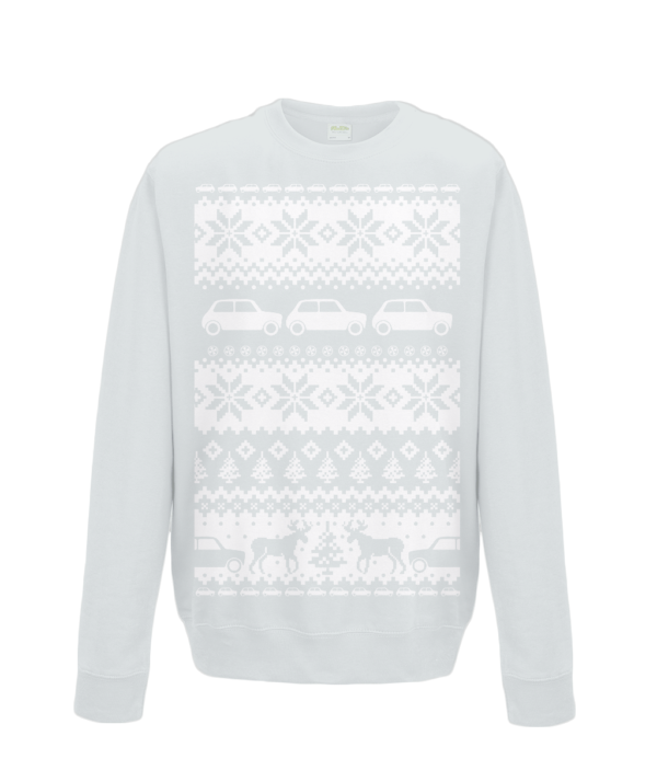 Heather Grey Kids Mini Christmas Jumper