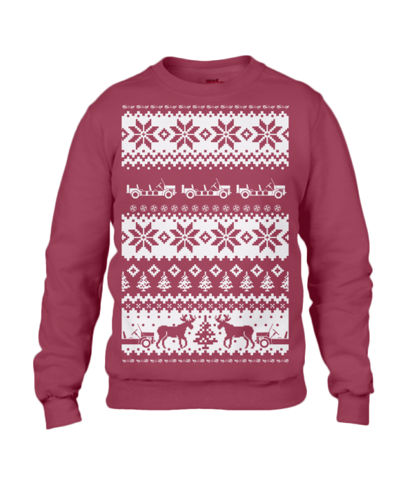 Independance Red Adult Moke Christmas Jumper