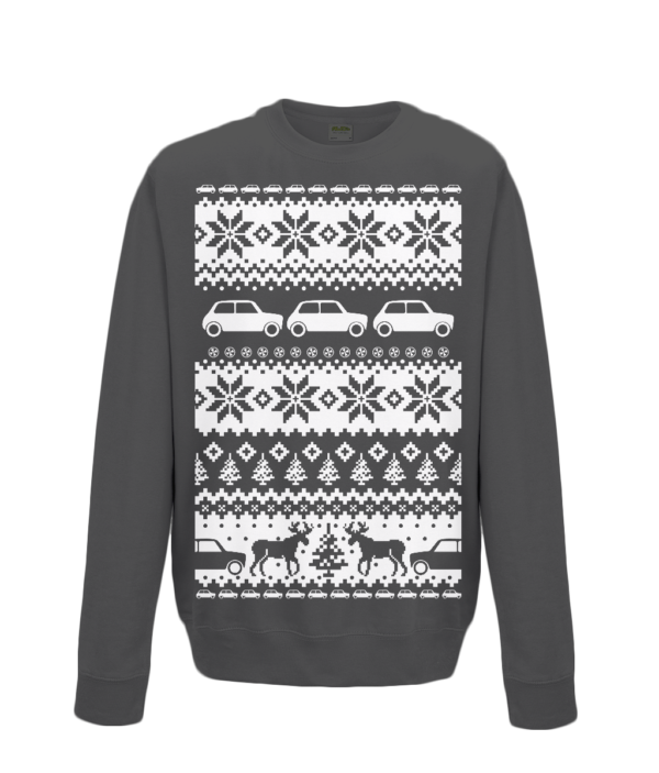 Jet Black Kids Mini Christmas Jumper