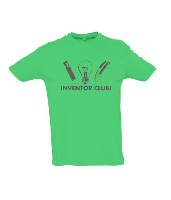 Kelly Green Inventor Club Tshirt