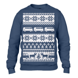 Navy T1 Christmas Jumper