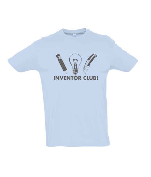 Sky Blue Inventor Club Tshirt