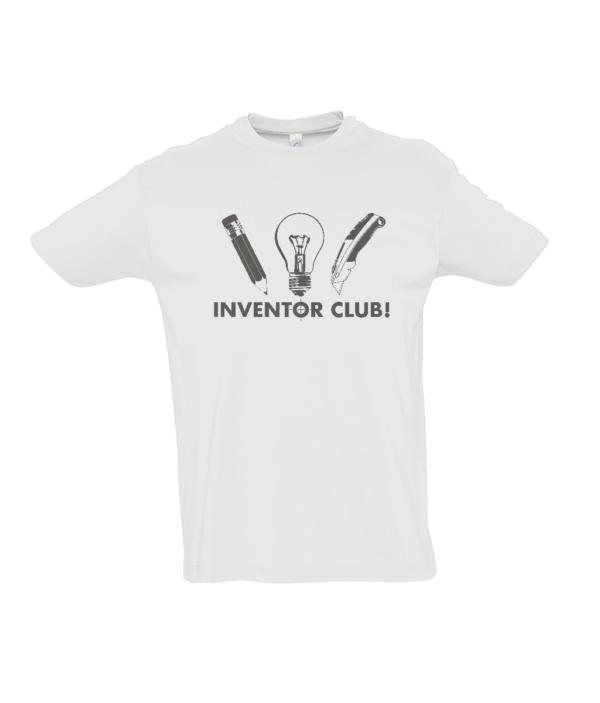 White Kids Inventor Club Tshirt
