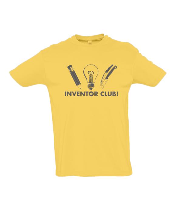 Yellow Inventor Club Tshirt