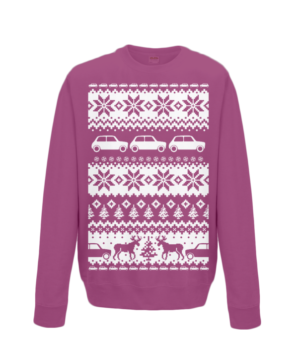 Burgundy Christmas jumper