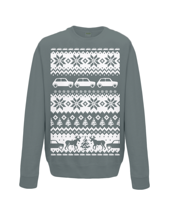 Charcoal Christmas Jumper