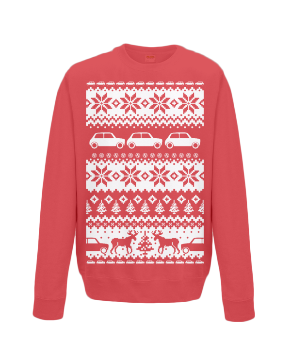 Fire Red Christmas Jumper