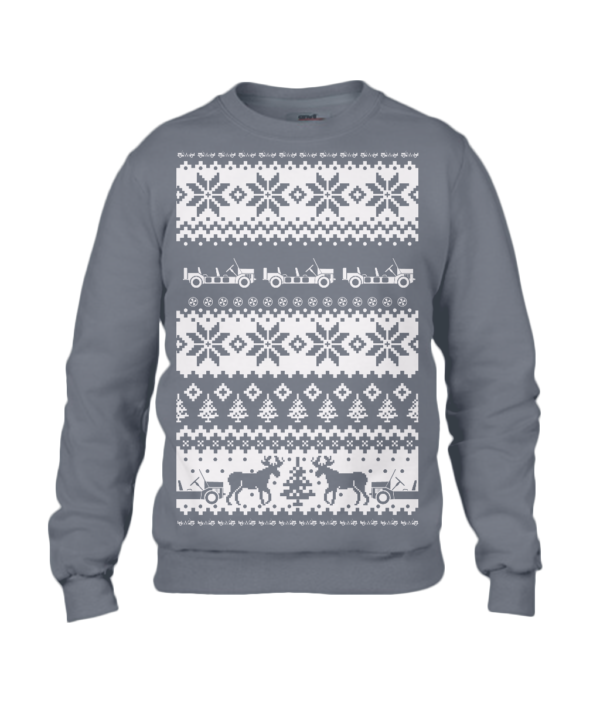 Charcoal Moke Christmas Jumper