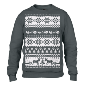 Adult Black Moke Christmas Jumper