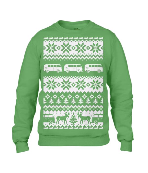 Apple Green T1 Christmas Jumper