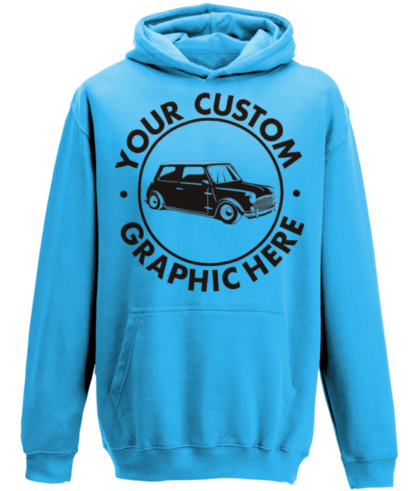 sapphire blue hoody