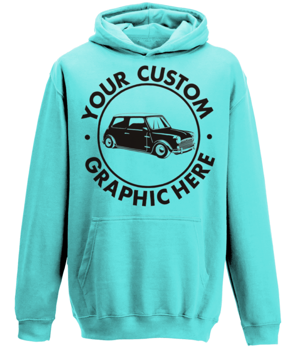 turquoise surf hoody