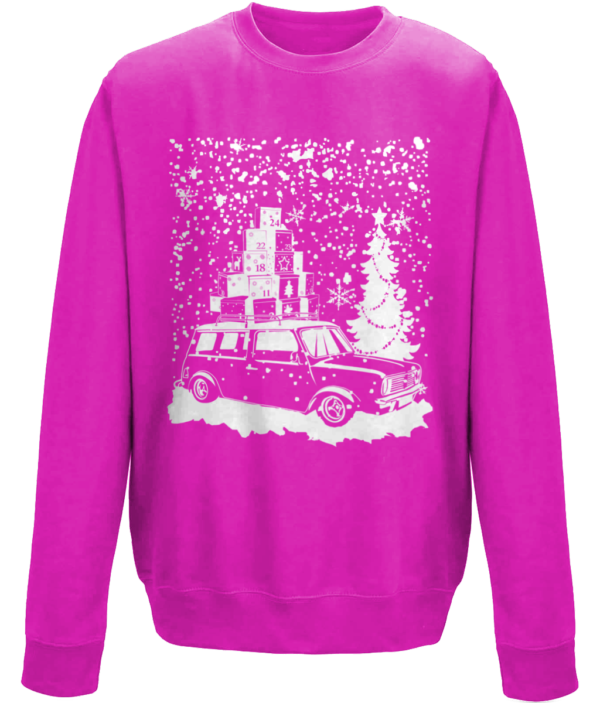 Kids Clubby in the snow - Hot Pink