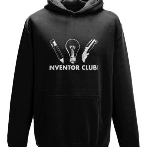 Kids Inventor club Hoodie - Black