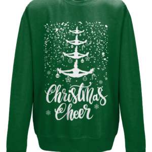 Cheer Christmas mockup - Bottle Green