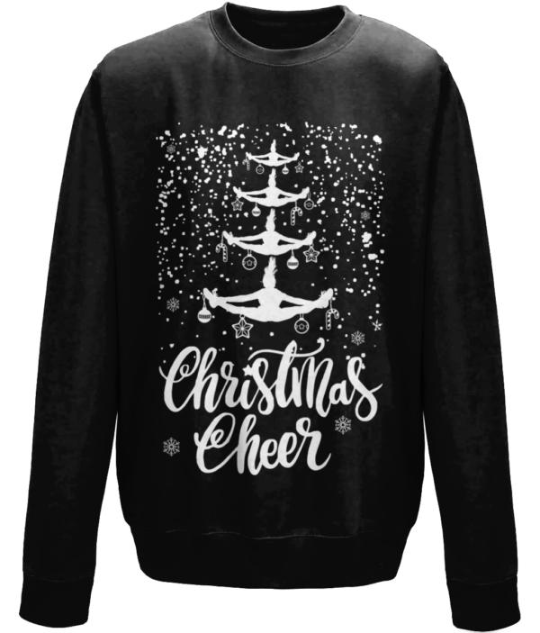 Cheer Christmas mockup -Jet Black