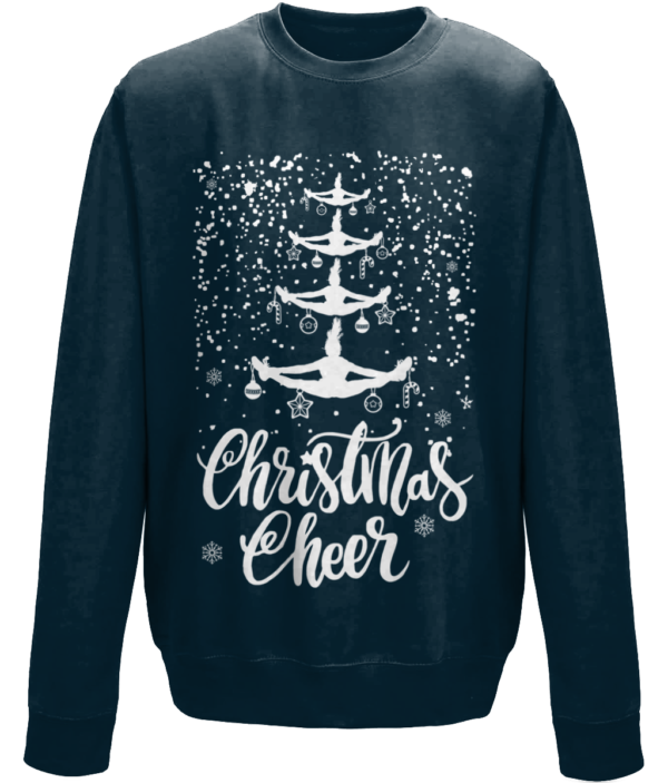 Cheer Christmas mockup -New French Navy