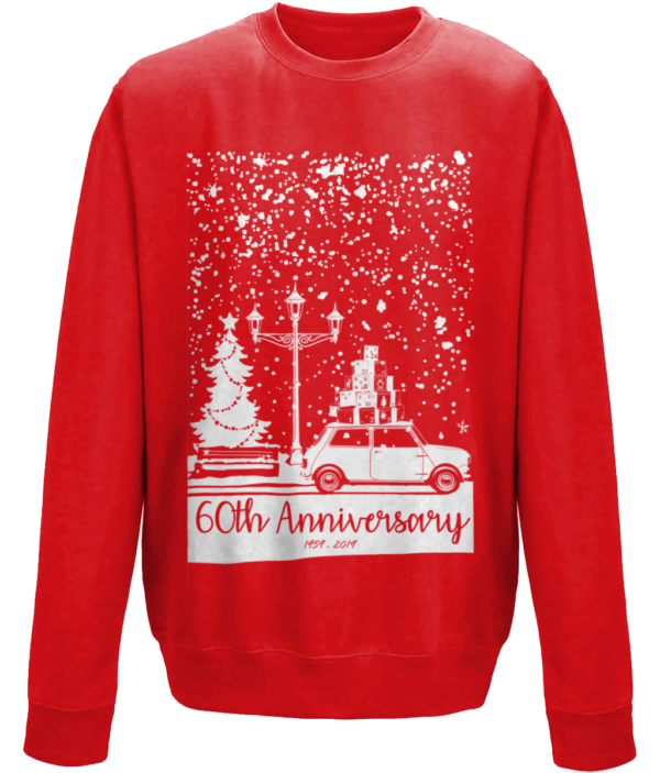 Christmas 2019 jumper -Fire Red