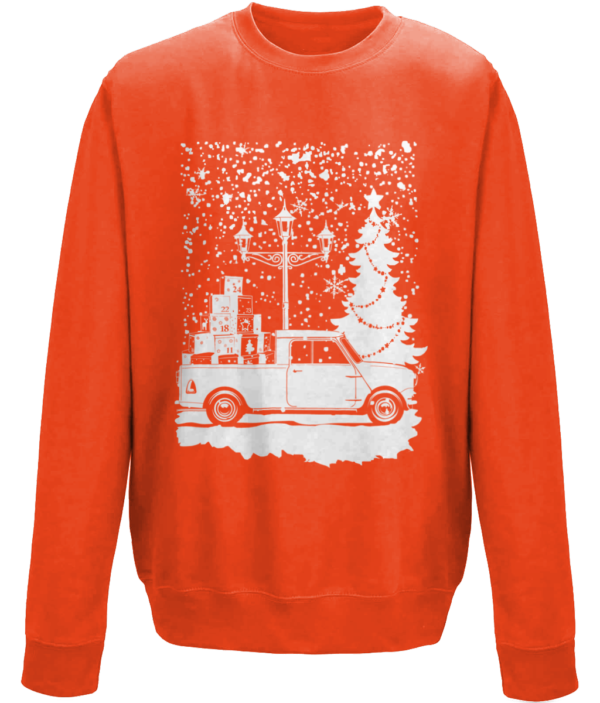 Christmas 2019 jumper - Fire red