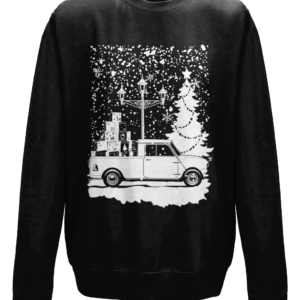 Christmas 2019 jumper - Jet Black