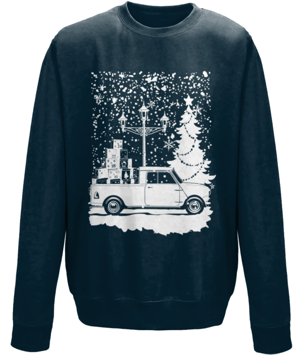 Christmas 2019 jumper - New French navy