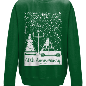 Christmas 2019 jumper - Bottle Green