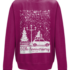 Christmas 2019 jumper - Burgundy