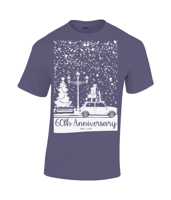 Christmas 2019 T Shirt- Adult - Cobalt