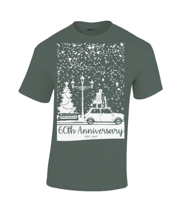 Christmas 2019 T Shirt- Adult - Forest Green