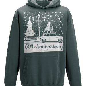 Anniversary Christmas hoodie - Charcoal