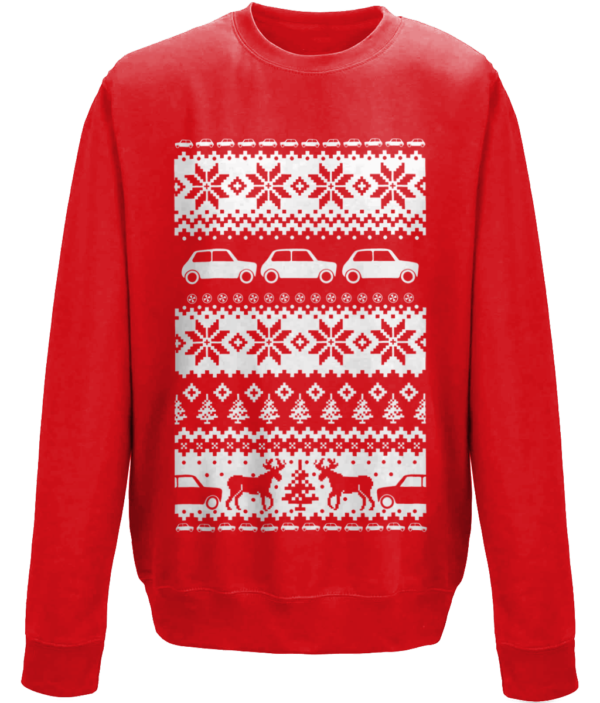 2017 Christmas Jumper - Fire Red