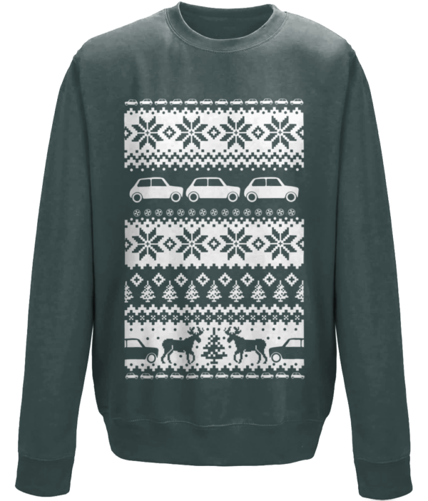 2017 Christmas Jumper -Charcoal