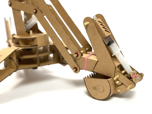 Hydraulic arm - digger attachment